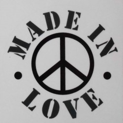Stickers Made in Love.
