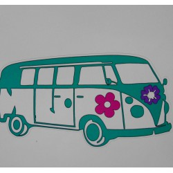 Stickers Combi turquoise, GM.