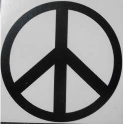 Stickers Peace and Love, GM.