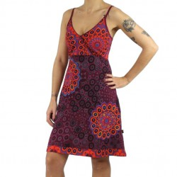 Robe Urban Summer, rouge.