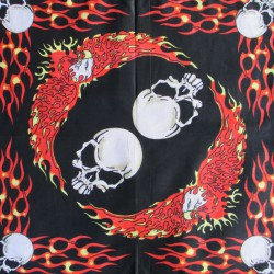 Bandana Skull and eagle fire
