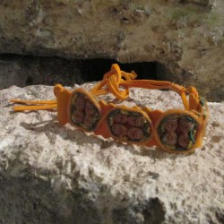Bracelet Cheyenne, orange