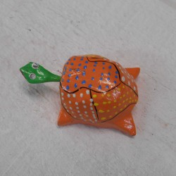 Bonjour Tortue, orange