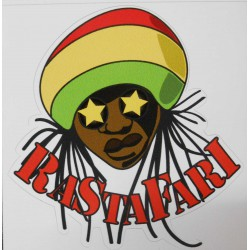 Stickers Rastafari.
