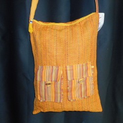 Sac Baba school, jaune orange.
