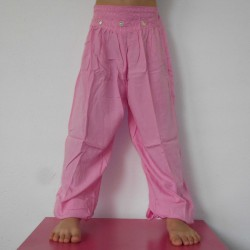 Pantalon Hybora enfant rose