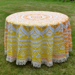 Nappe Nangloi Jat jaune orange