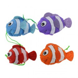 Sac shopping pliable en forme de poisson
