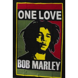 Tenture Bob Marley One Love, mini