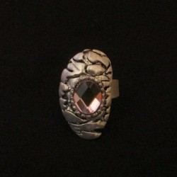 Bague Eternity, rose.