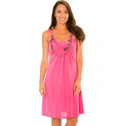 Robe Thena Fashion fushia.