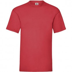 Tee shirt uni rouge