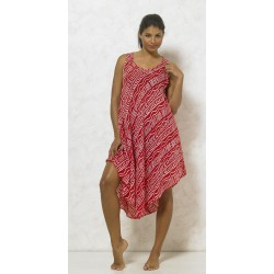 Robe africa, rouge