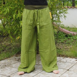 Pantalon Naturellement kaki